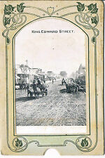 EARLY STREET SCENE KING EDWARDS STREET SOUTH AFRICA FRED COOPS SERIES