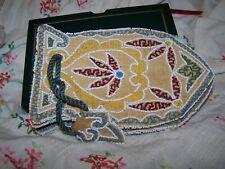 Vintage Beaded Purse Handmade ?Native American Indian pattern?