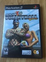 Outlaw Volleyball Remixed PS2 Sony PlayStation 2 Cib Game XP1