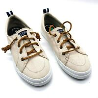 SPERRY TOP-SIDER CREST VIBE STS98644 OAT LINEN DEADSTOCK Woman's Sz 7.5 NEW
