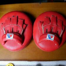 WINNING Boxing Punch Mitts Soft Type CM-50 Punching Martial Arts Training Gear