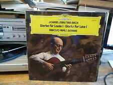 Narciso Yepes : J.S. Bach Werke für Laute I deutsche gramophone 2530 461