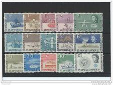 LOT : 082015/029A - ANTARCTIQUE BRITANNIQUE 1963 - YT N° 1/15 NEUF SANS CHARNIER
