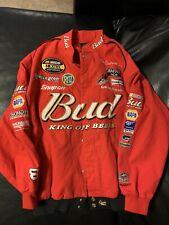 Budweiser Dale Earnhardt Jr Nascar Jacket Sz XXL Chase Authentics Drivers Line