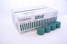 5 oasis wet foam rounds / cylinders for fresh flowers