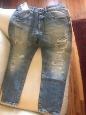jack and jones mens jeans Cropped made in Italy Size W32 L32