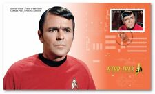 STAR TREK = 50th Anniversary = JAMES DOOHAN as SCOTTY = OFDC = FDC Canada 2016