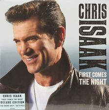 First Comes The Night  Chris Isaak Vinyl Record