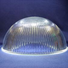 Lampenschirm Lampenglas Leuchtenglas Ø380mm Riffelglas Klar-Glas E27 Öffn.42 mm