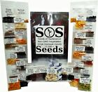 13,300 Heirloom Vegetable Seeds, 33 Pk Variety, Non GMO, Survival, Gardening