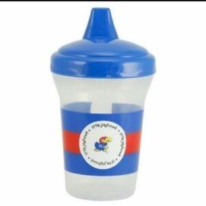 Kansas Jayhawks KU Sippy Cup Baby Fanatic  - LOT OF 10