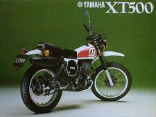 XT 500 YAMAHA ANNEE 1978  EMBLÈME COMPATIBLE POUR  RESERVOIR