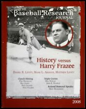 The Baseball Research Journal #37 (SABR) - 2008 - Babe Ruth & Harry Frazee Cover