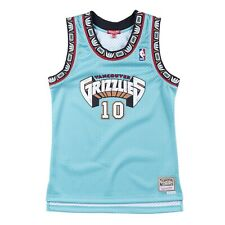 Women's Vancouver Grizzlies Mike Bibby Mitchell & Ness Teal 1998-99 HWC Jersey
