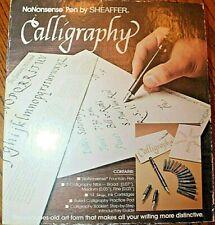 NoNonsense Pen by Sheaffer Calligraphy Kit Vintage