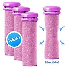 Emjoi Micro-Pedi Replacement Rollers - Extra Coarse (Pink) - Pack of 4