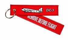 Remove Before Flight Anhänger - DC3 Douglas DC-3
