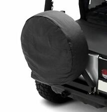 "Jeep CJ Wrangler YJ TJ JK Spare Tire Cover Black Diamond 27-29"" Sittybilt 772935"