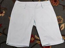 Womens ADIDAS Clima Lite Bermuda Shorts Size 2 Casual Golf  Z77162 Mint Green