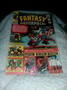 Marvel Comics Silver Age Fantasy Masterpieces #4 Captain America Golden reprints