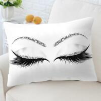 New Eyelash Out Soft Velvet Cushion Cover 30x50cm Marble Pillow Cases
