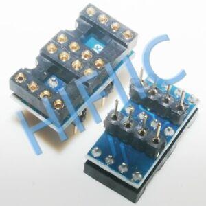 1PCS/5PCS/20PCS DIP to DIP Dual to Mono Opamp PCB Adapter OPA627BP