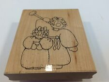 D.O.T.S. DOTS Rubber Stamp Q199 Herald Angels