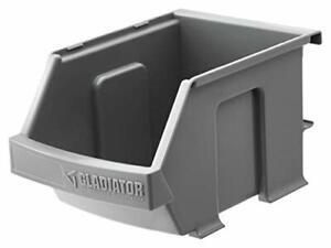Gladiator GarageWorks GAWESB3PGC 3-Pack Gladiator Small Item Bins Gray