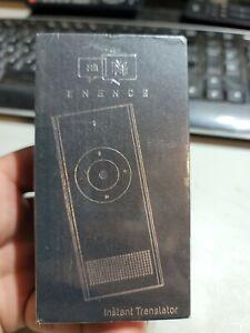 Muama Enence Instant Translator Device FactorySealed SN 528 351 Works with Phone