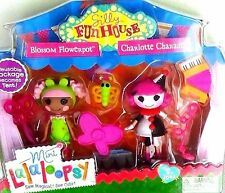 NEW! Mini Lalaloopsy Silly Funhouse Blossom Flowerpot Charlotte Charades Tent ~