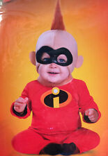 Incredibles 2 Jack-Jack Baby Halloween Costume Jumpsuit & Mask 12-18 Month - New