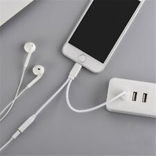 2 in1 Light to 3.5mm USB Headphone Audio Adapter and Charge Cable For iPhone 6 7