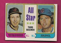 1974 TOPPS # 334 ORIOLES BROOKS ROBINSON AS  NRMT-MT  CARD (INV# A4916)