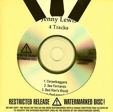 JENNY LEWIS Acid Tongue Sampler 2008 US 4-trk watermarked/numbered promo CD