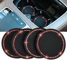 4pcs Car Coasters For Cup Holders Cup Pad Auto Anti Slip Rhinestone Cup Pad Fits Pontiac Sunfire