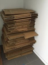 50x Used Med-Large Cardboard Packing Boxes, Storage Moving Box - Sydney Pick Up