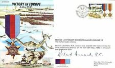JS50 45/12A wwii WW2 oim ve raf fdc cover signé annand vc