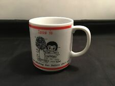 Love Is... Vintage Collectable Mug ; Made in Japan