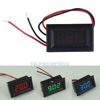 DC 2.5-30V LED Display 3-Digital Panel Volt Voltage Meter Voltmeter for Car Moto