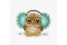 Cross Stitch Kit Fluffy Happiness M-288