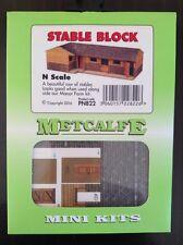 Metcalfe Mini Kit PN822. Stable Block. N Scale.