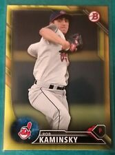 2016 BOWMAN PROSPECTS YELLOW ROB KAMINSKY ROOKIE #BP98 CLEVELAND INDIANS RC