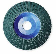 """10 x Flap Dischi Abrasivi 115mm 40 60 GRANA 4.5/"""" Ossido di Zirconio Smerigliatrice Angolare Mix"""