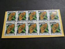 SUISSE 2002, timbre 1728, PAPILLON GRAND NACRE', oblitéré, BUTTERFLY, used
