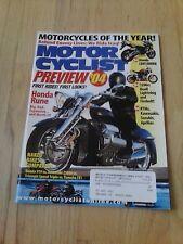 Motorcyclist Magazine September 2003 Honda CBR1000RR 1200cc Buell Lightning KTM