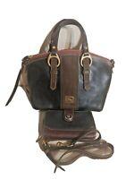Dooney bourke florentine satchel Megan Sold Out! Wallet Crossbody Black Brown