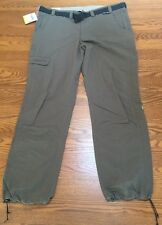 Schoffel Mens Waterproof UV Outdoor Pants Brown Size 40 NWT MSRP $140