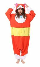 New Yokai Watch Jibanyan Kigurumi Pajamas Cosplay Halloween Japan fleece F/S