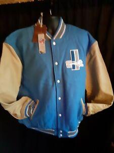 Detroit Lions NFL Men's Mitchell & Ness Wool/Leather Jacket MSRP $600 5X