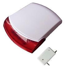 GSM FUNK sirène directionnelles Irene Blink-LED & sound sortie 120db hautes! seulement accessoires!